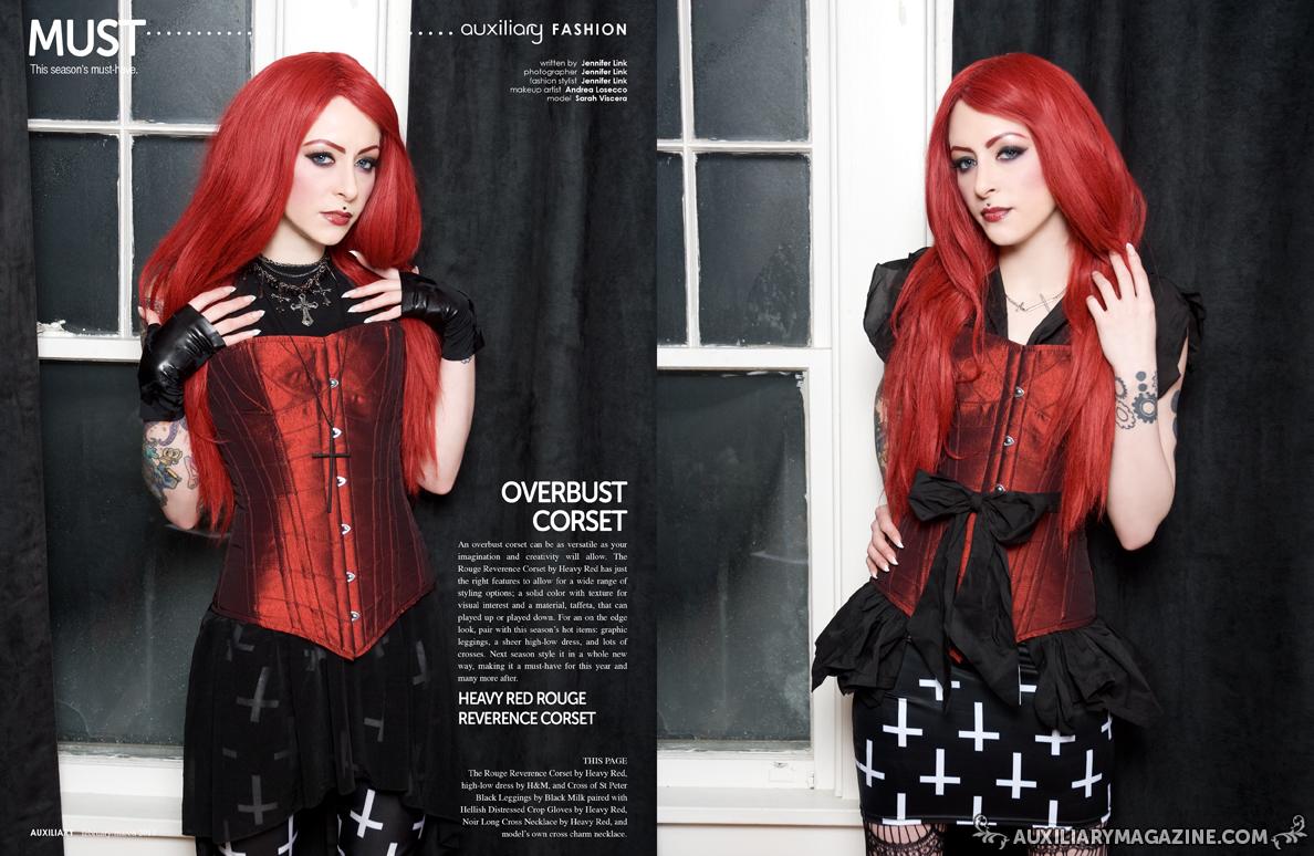 must : overbust corset