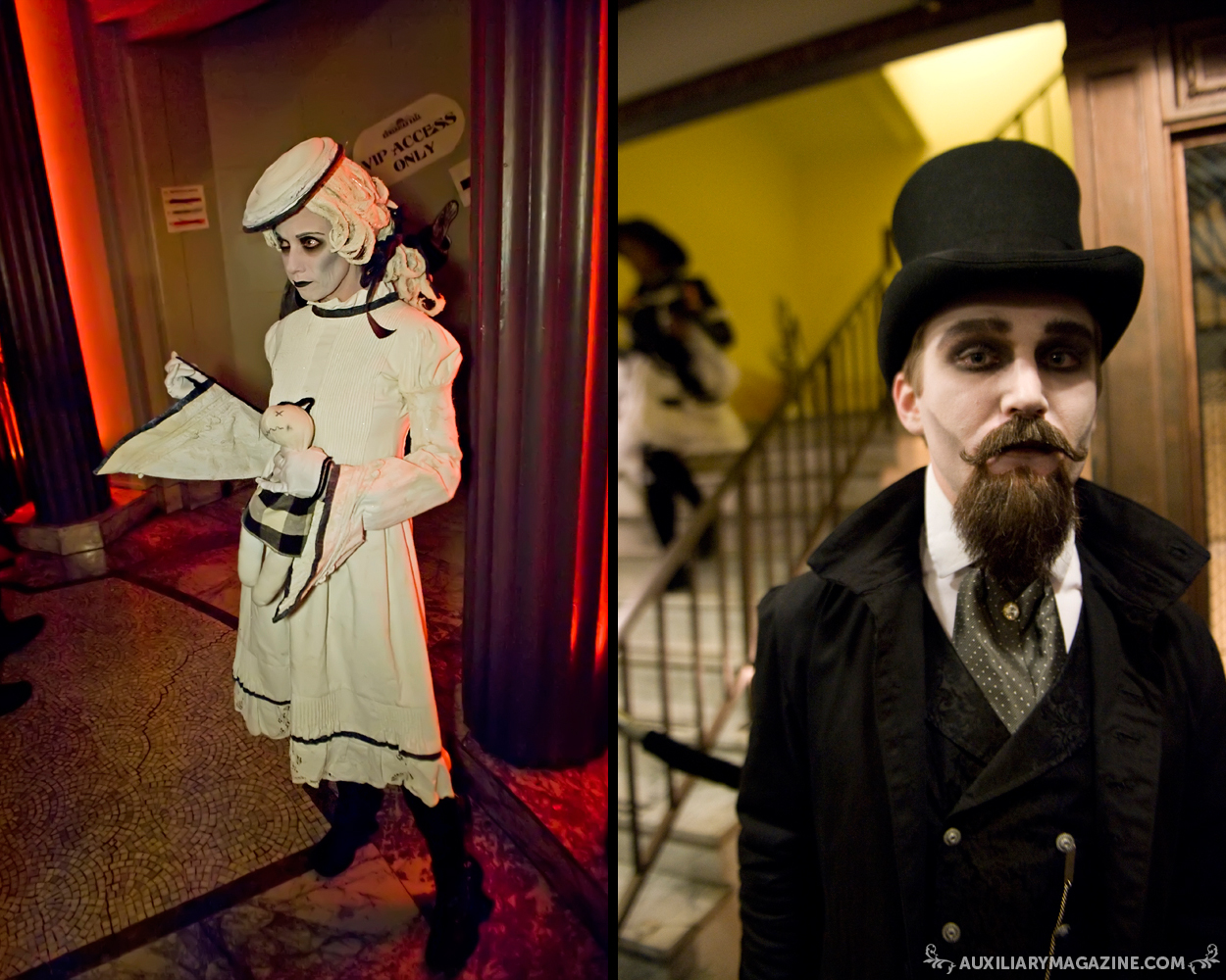 in attendance : The Edwardian Ball