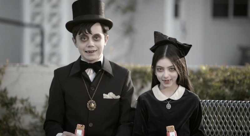 Nutri Grain Vampire Commercial