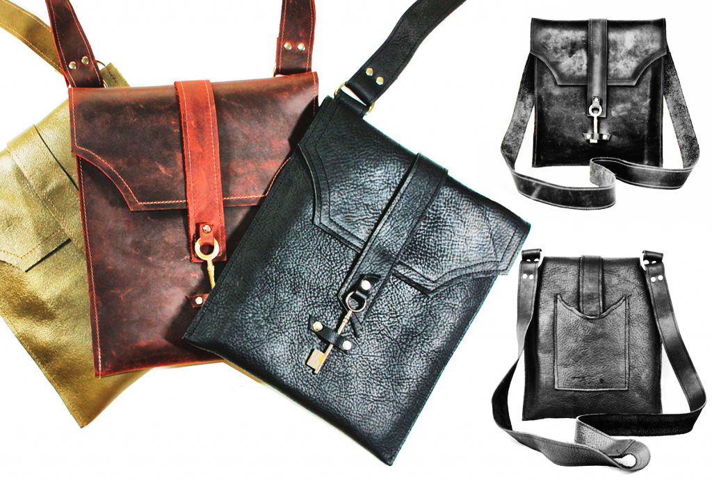 item of the week : Ayre Leather Messenger Bag by Divina Denuevo