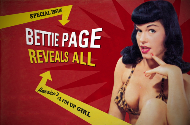 An interview with Bettie Page Reveals All director Mark Mori