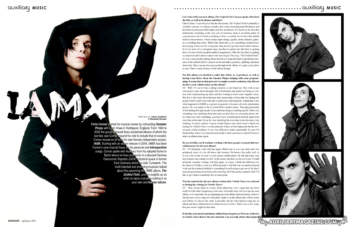 interview : IAMX