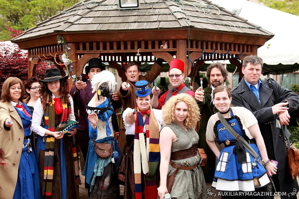 Steampunk World's Fair 2013