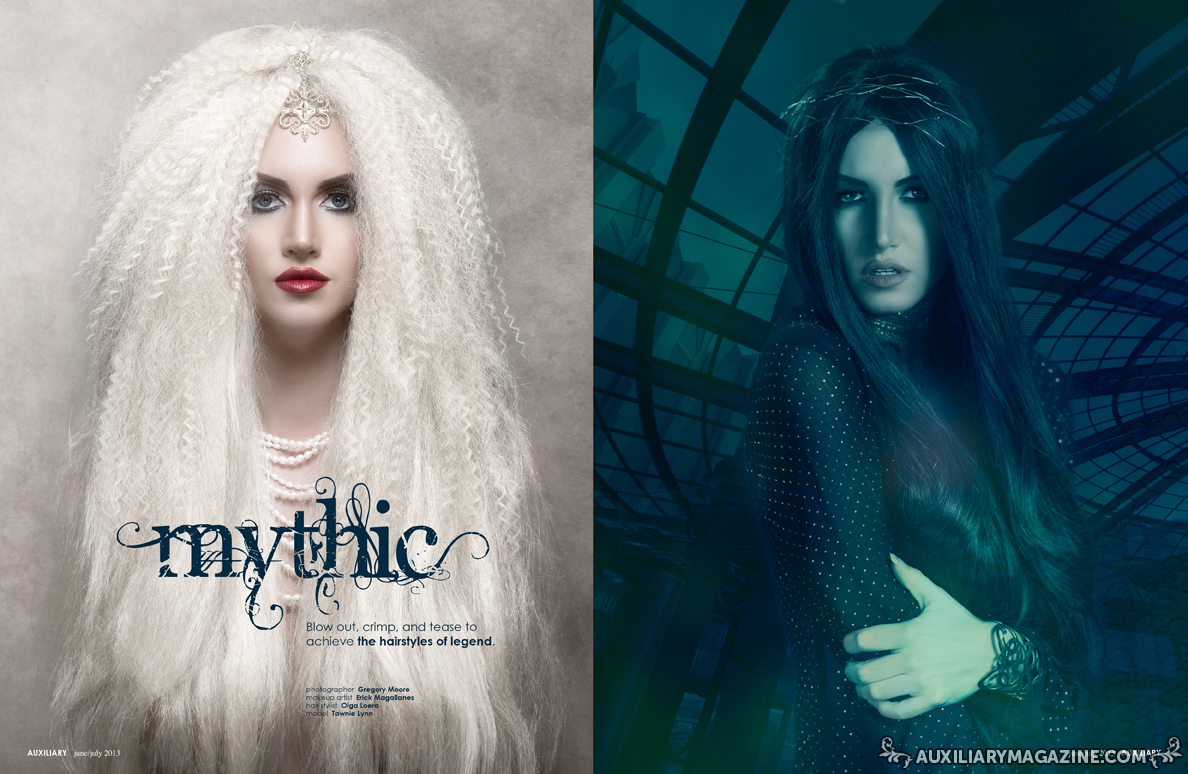 beauty editorial : Mythic