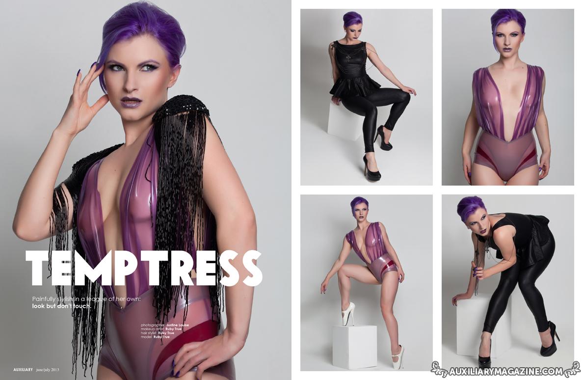 fashion editorial : Temptress