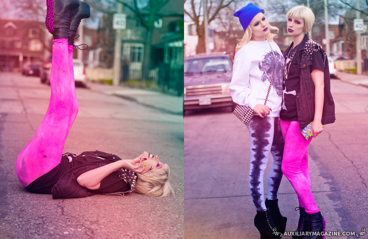fashion editorial : Trouble Makers