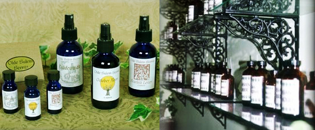 item of the week : Olde Salem Scents by Aromasanctum