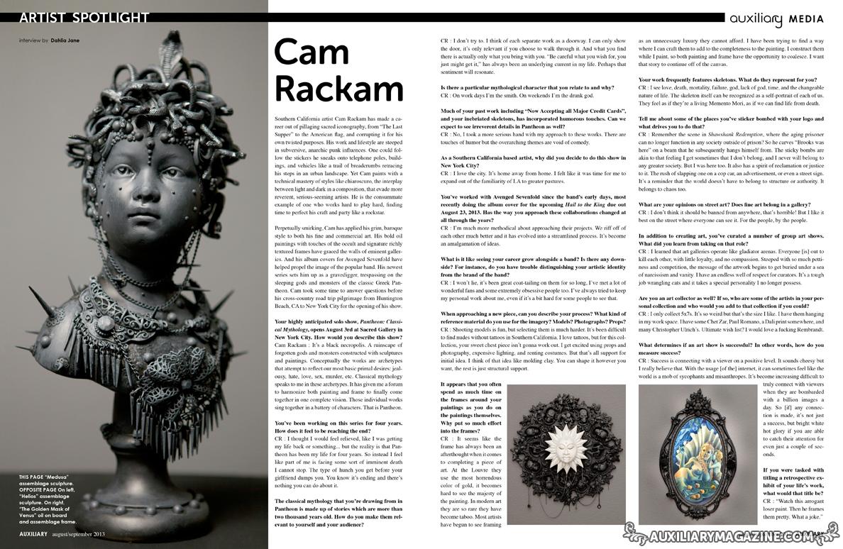 artist spotlight : Cam Rackam