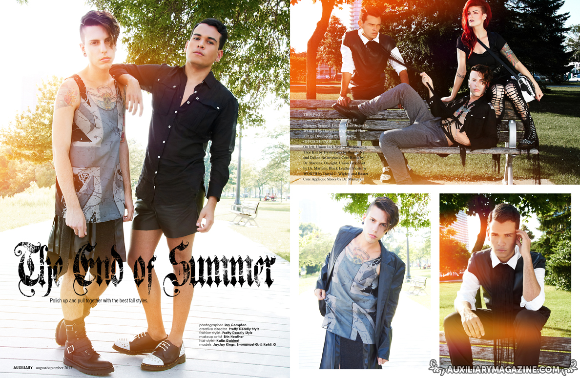 fashion editorial : The End of Summer