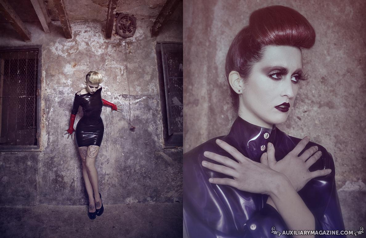 fashion editorial : Shine in the Dark