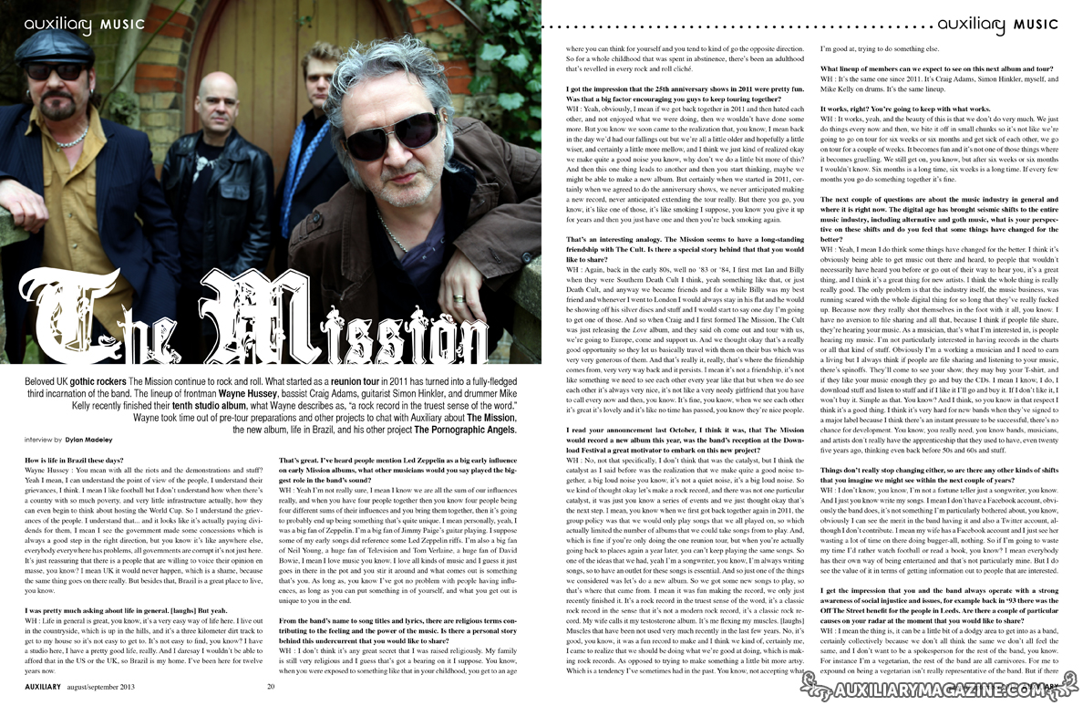 interview : The Mission