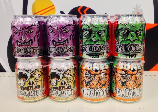 Halloween Jones Soda
