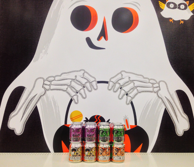 Jones Soda Halloween Cans