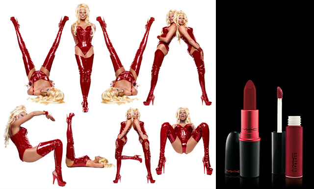 item of the week : Viva Glam The Original Lipstick and Lipglass by MAC Cosmetics