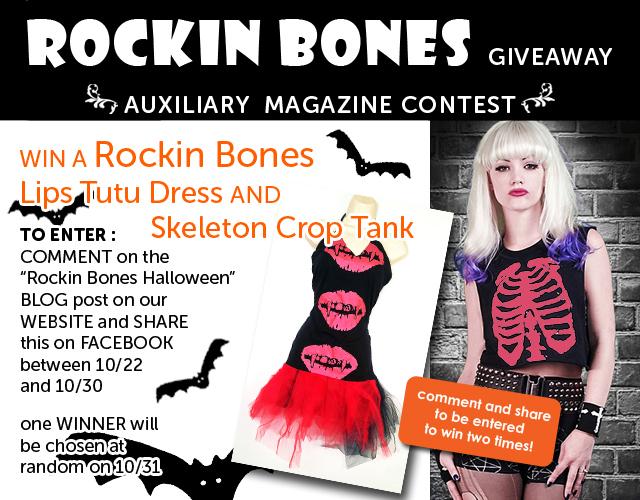 contest : Rockin Bones Halloween Giveaway