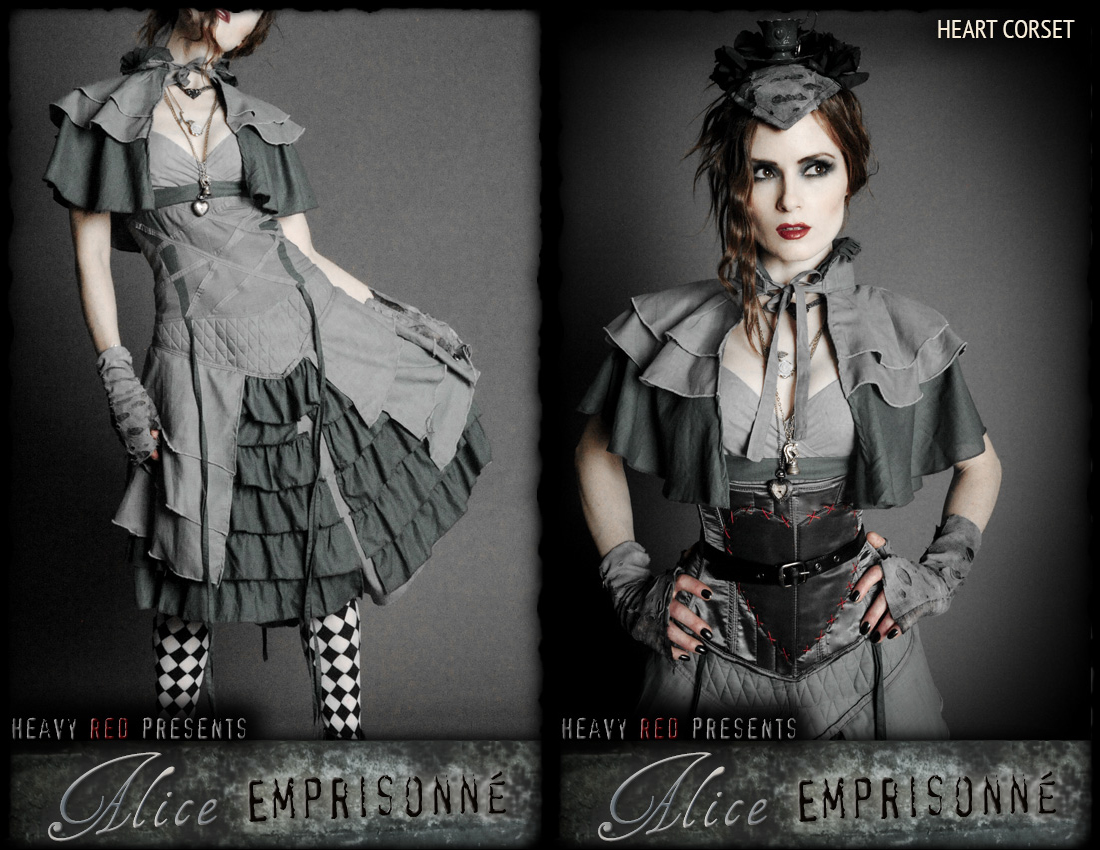 item of the week : Alice Emprisonné Costume by Heavy Red