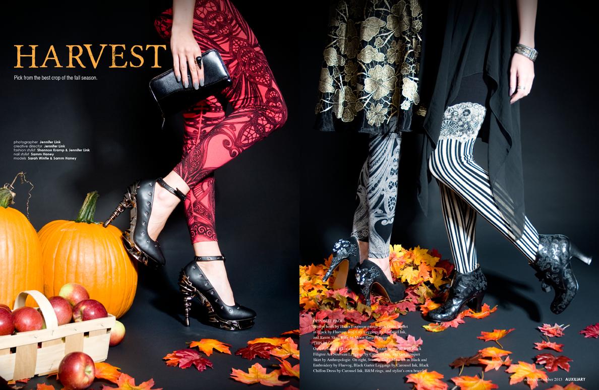 fashion editorial : Harvest