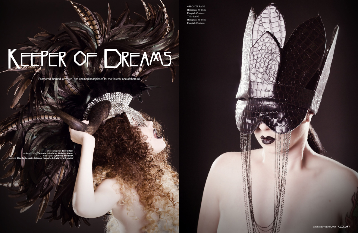 beauty editorial : Keeper of Dreams