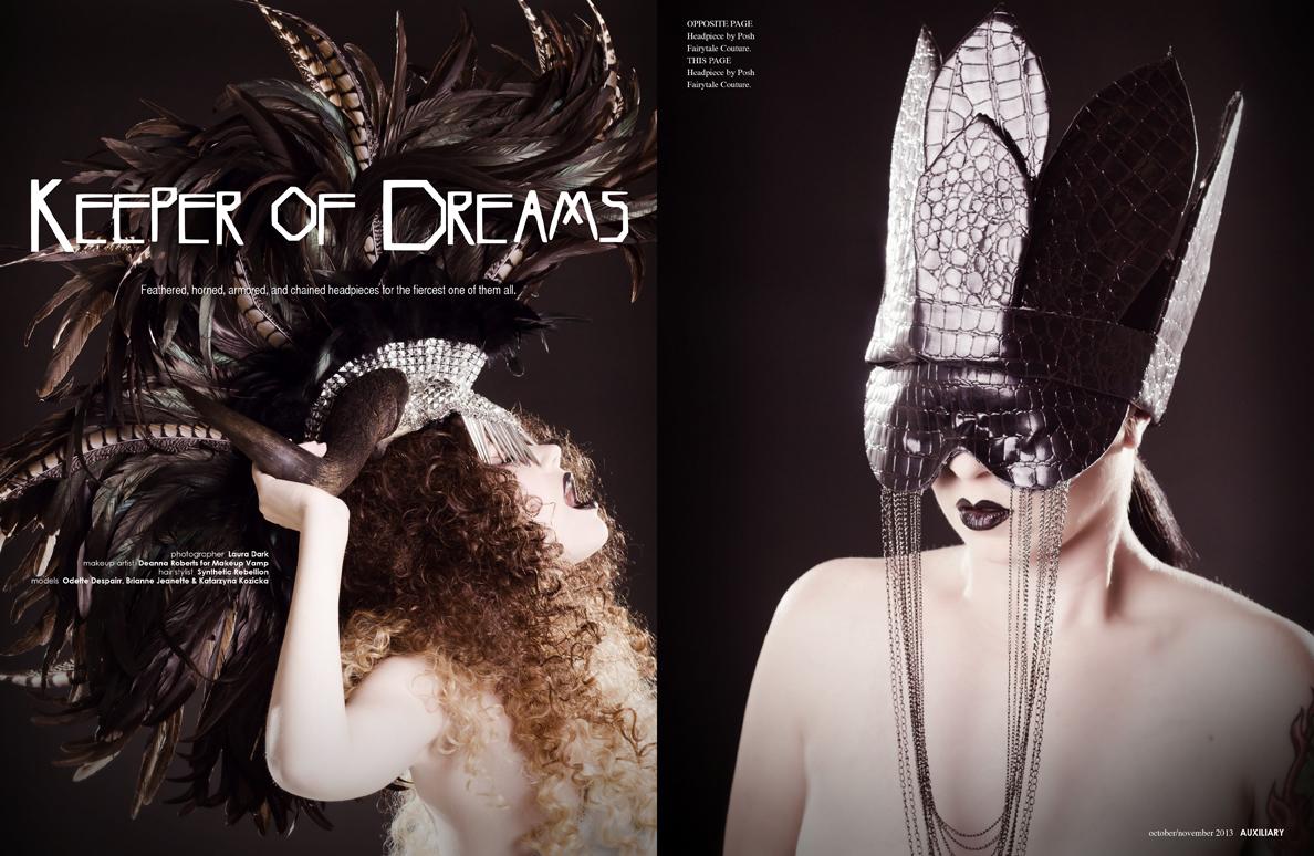 beauty editorial : Keeper of Dreams