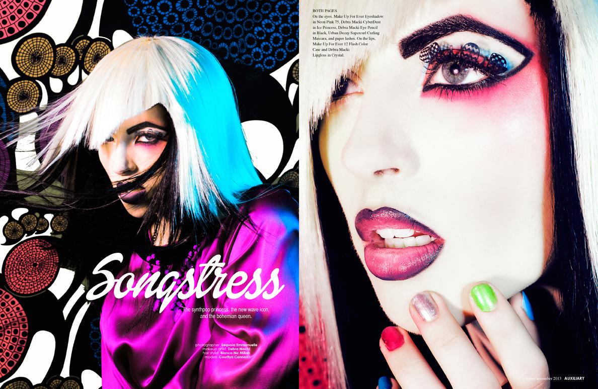 beauty editorial : Songstress