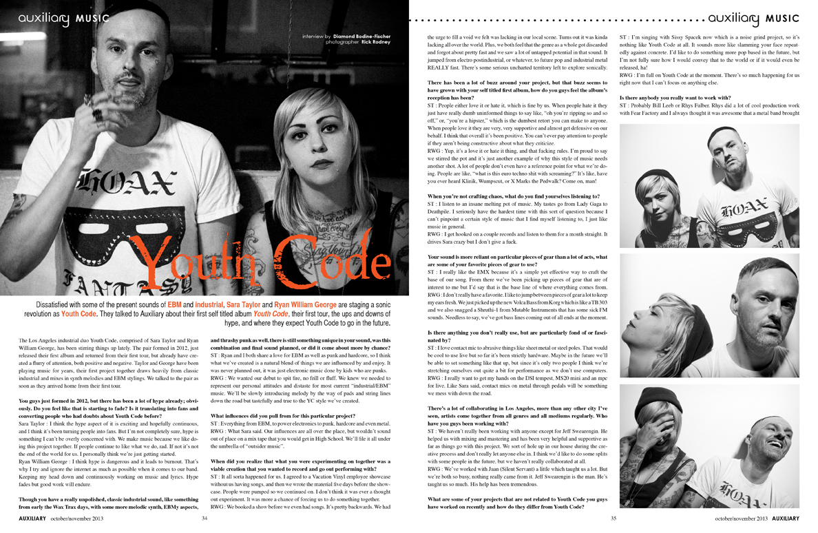 interview : Youth Code