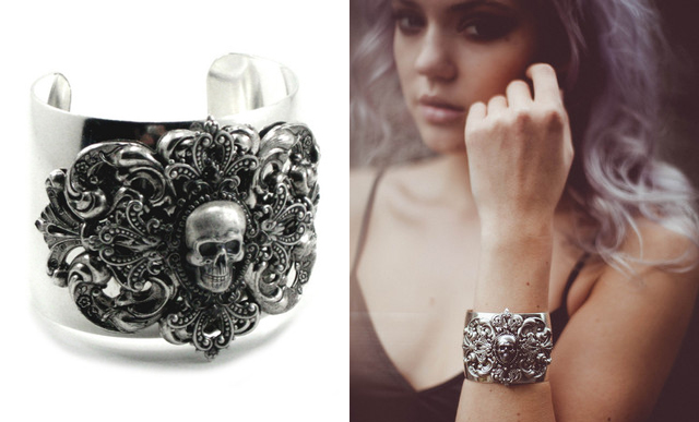 item of the week : Menace Cuff by Ghostlove Jewelry