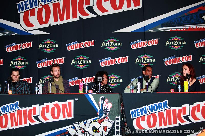 in attendance : New York Comic Con