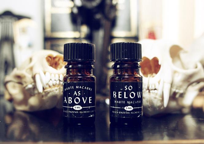 item of the week : As Above, So Below Fragrance Set by Haute Macabre