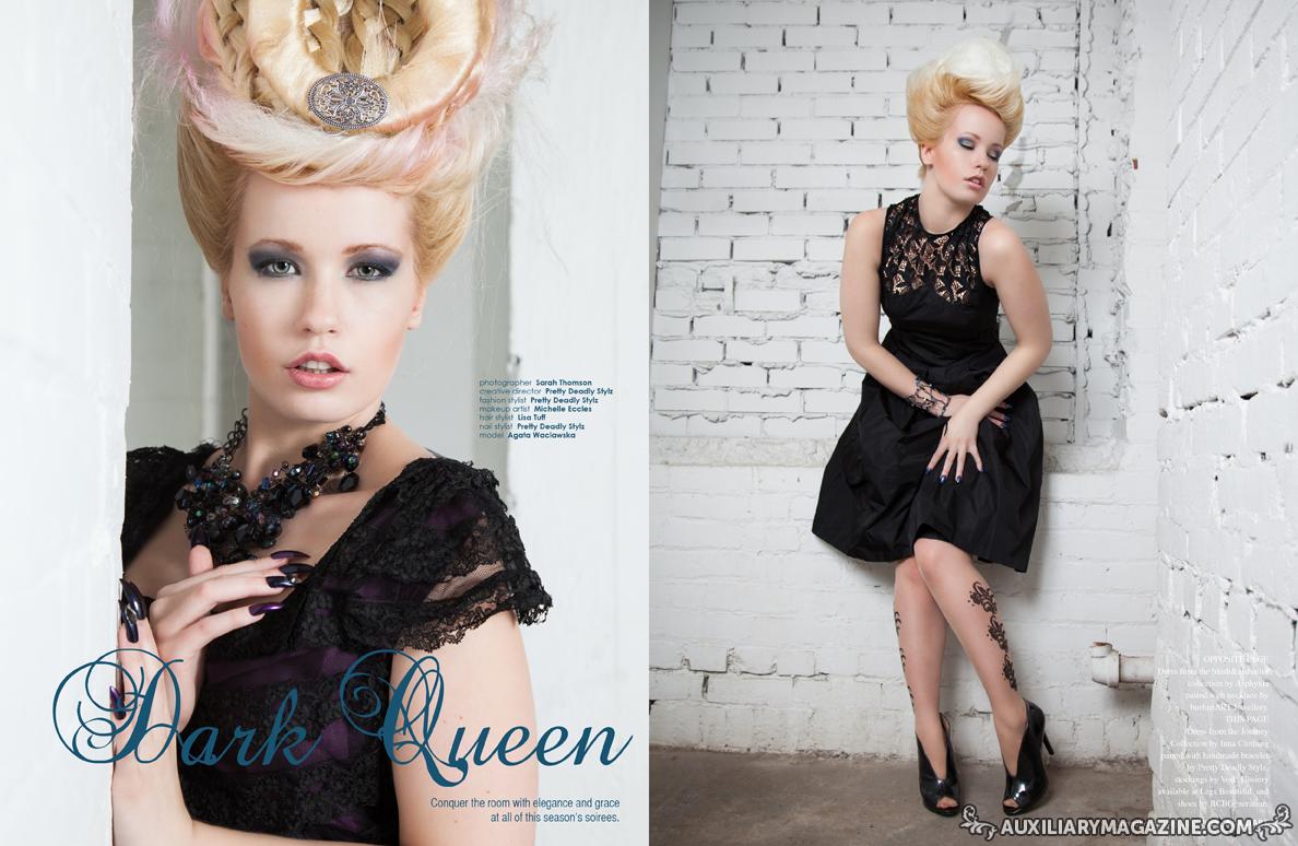 Dark Queen editorial