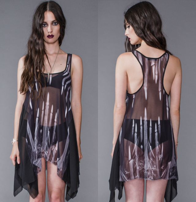 item of the week : Scoop Neck Chiffon Tunic by Widow