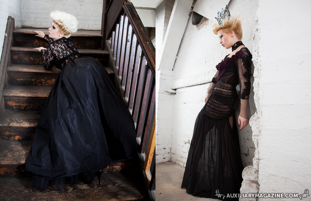 fashion editorial : Dark Queen