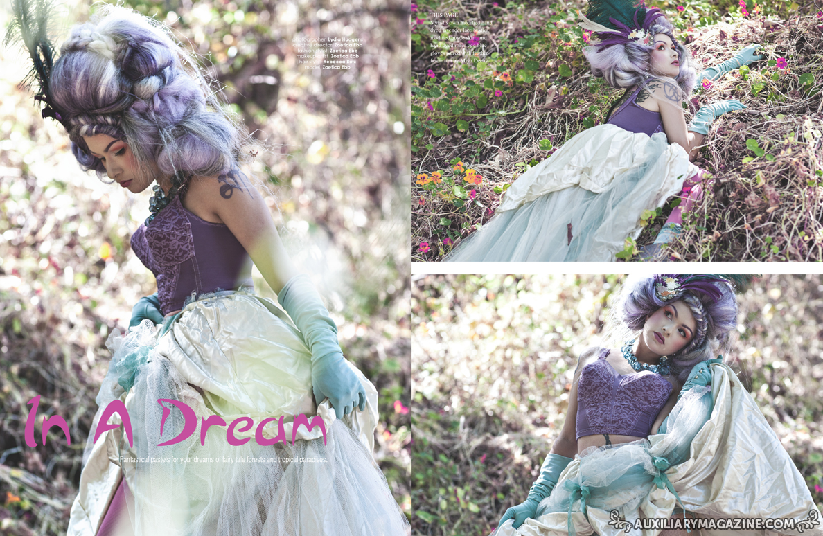 fashion editorial : In A Dream