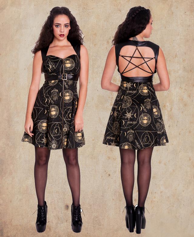 item of the week : Pentagram Mini Dress by Spin Doctor