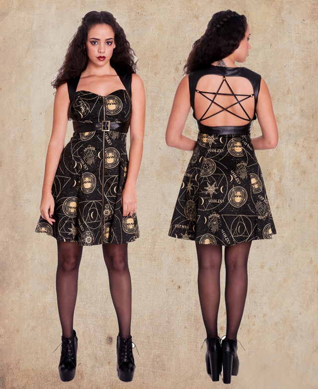 item of the week : Pentagram Mini Dress by Spin Doctor