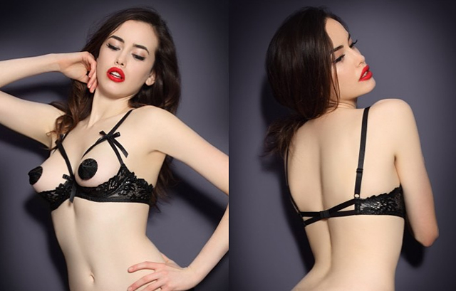 item of the week : Cendrillon 1/4 Cup Bra by Agent Provocateur
