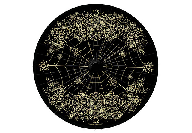 item of the week : Day of the Dead Parasol by Retro-a-go-go
