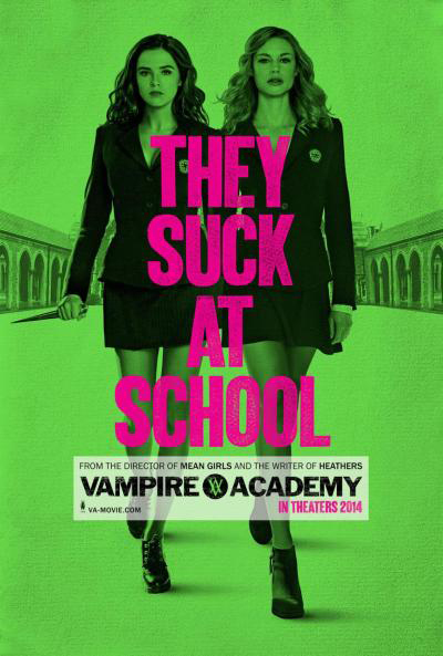 film review : Vampire Academy