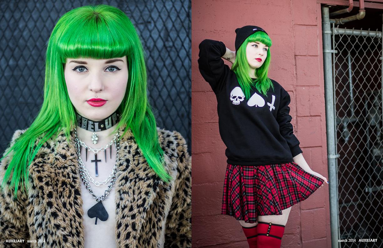 fashion editorial : Kicking Around
