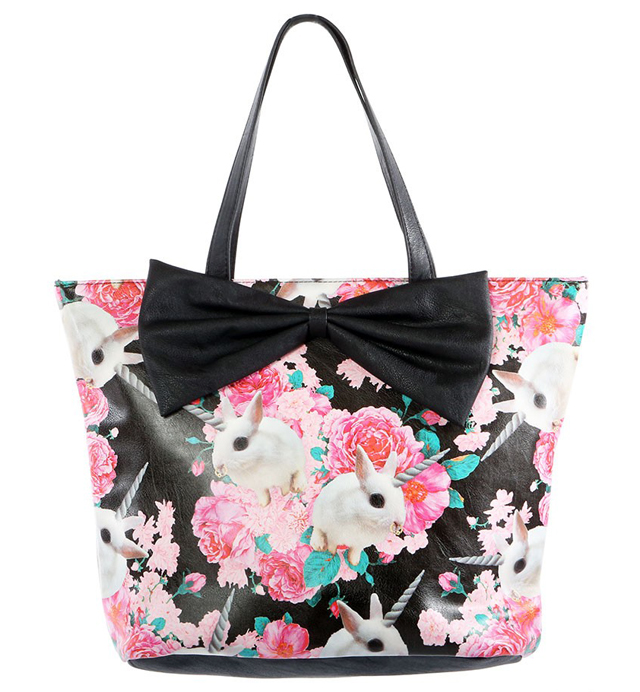 item of the week : Buns 'N Roses Tote Bag by Iron Fist