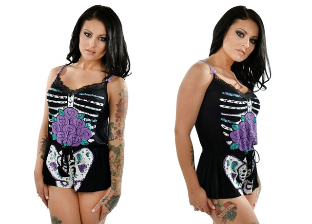item of the week : Day of the Dead Skeleton Wendy PJs by Too Fast