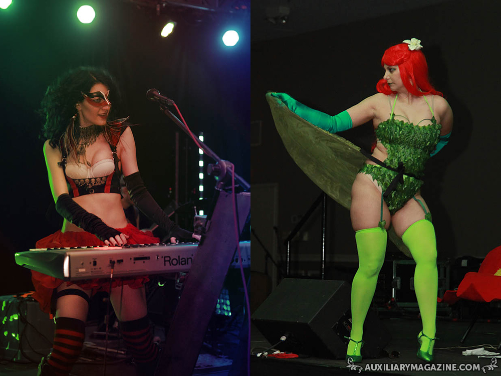 in attendance : The Twisted World Villains and Vixens
