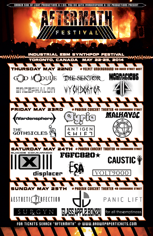 Aftermath flyer