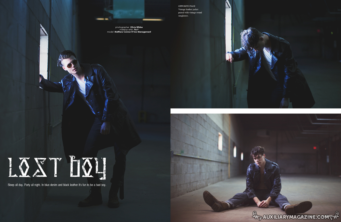 fashion editorial : Lost Boy