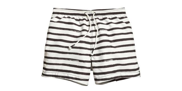 H&M goth swim short