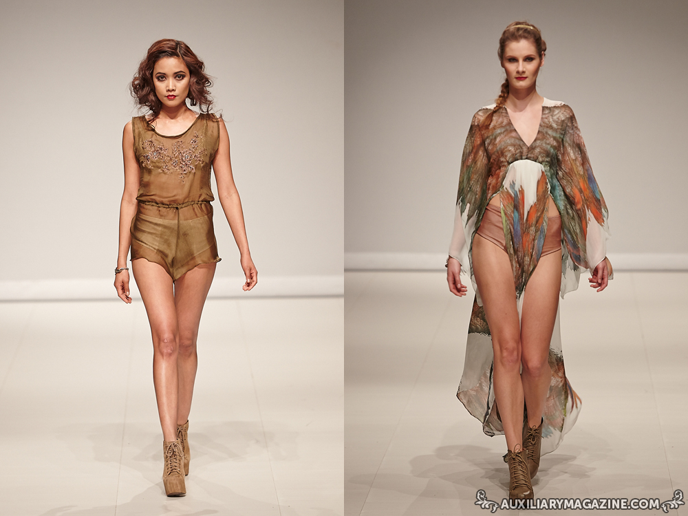 runway : With Love Lingerie at FAT 2014