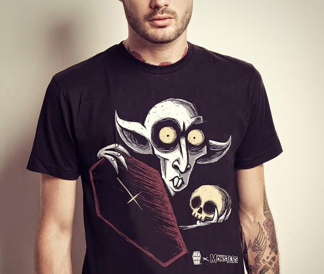 item of the week : Famous Monsters of Filmland Akumu Ink T-Shirt