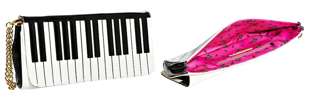 item of the week : Piano Wristlet by Betsey Johnson