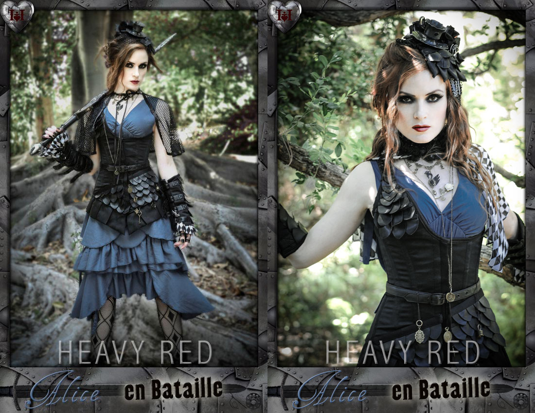 item of the week : Alice en Bataille Costume by Heavy Red