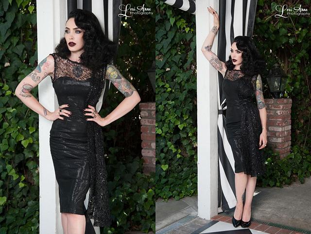 item of the week : Black Widow Cocktail Dress by Tatyana