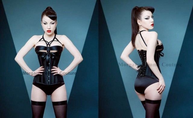 item of the week : Back to Basics Corset by Morgana Femme Couture